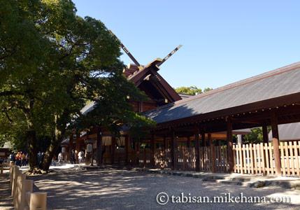 熱田神宮は七五三の参拝客で・・・